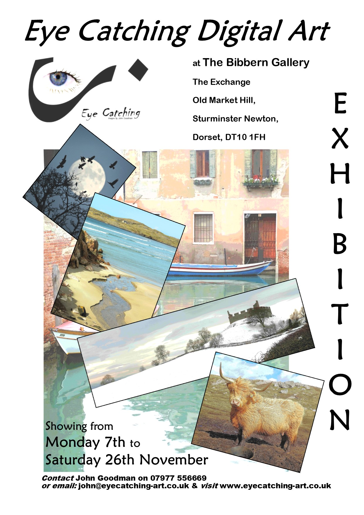Eyecatching at the Exchange Exhibition Poster November 2016